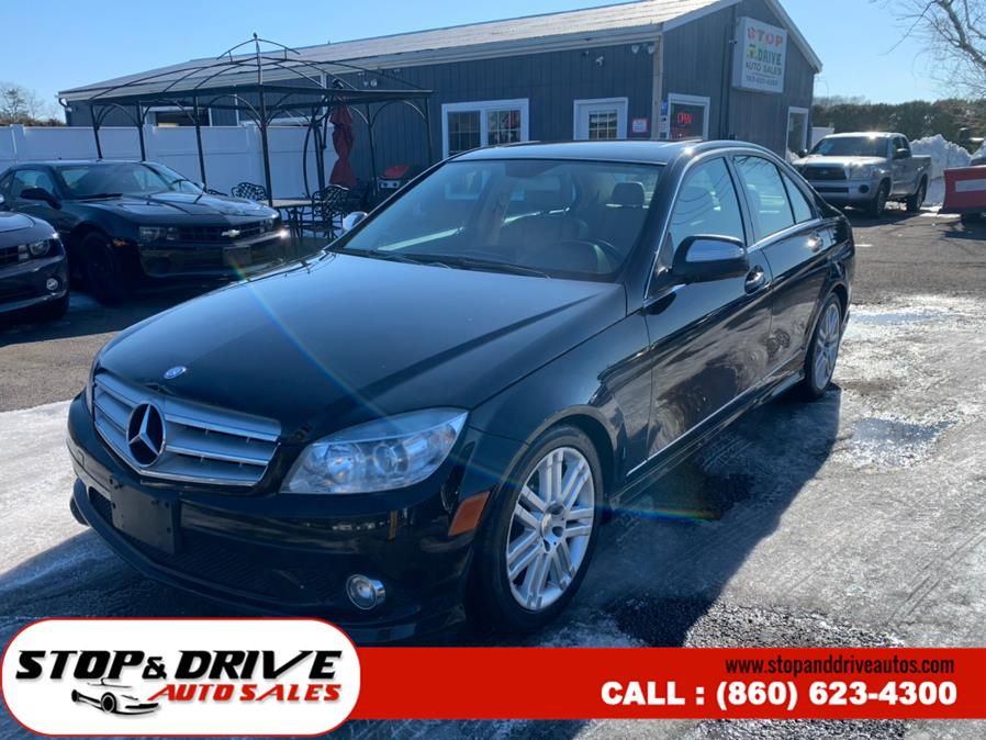 Used Mercedes-Benz C-Class 4dr Sdn 3.0L Sport 4MATIC 2009 | Stop & Drive Auto Sales. East Windsor, Connecticut