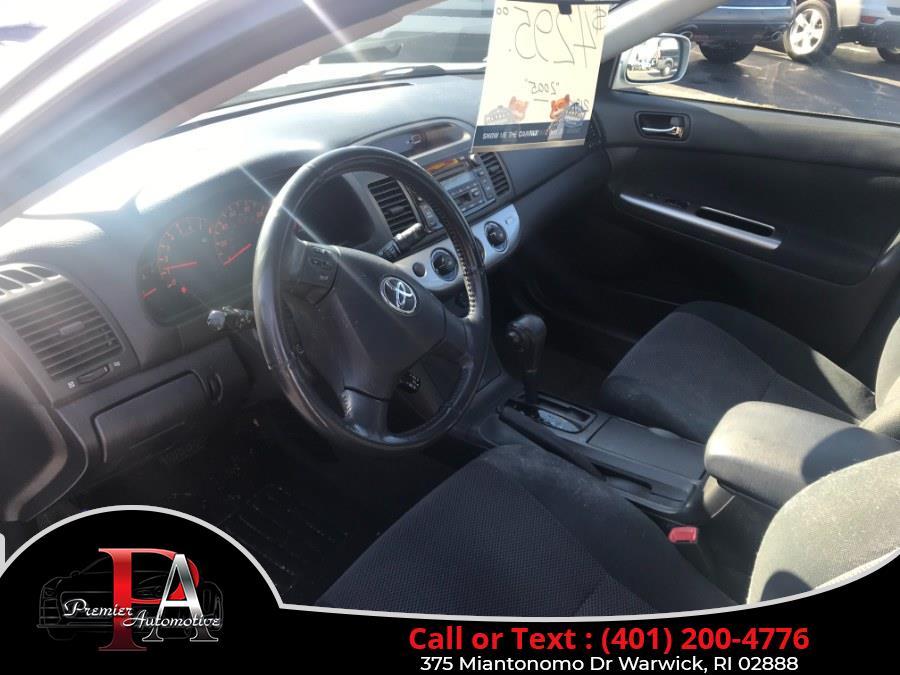 Used Toyota Camry 4dr Sdn SE V6 Auto (Natl) 2005 | Premier Automotive Sales. Warwick, Rhode Island