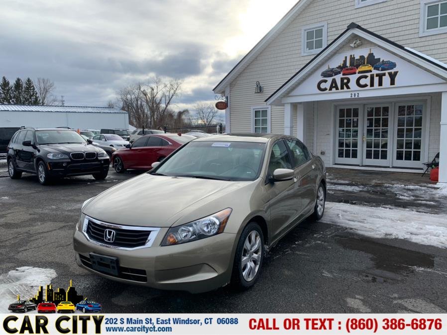 Used Honda Accord Sdn 4dr I4 Auto EX-L PZEV 2010 | Car City LLC. East Windsor, Connecticut