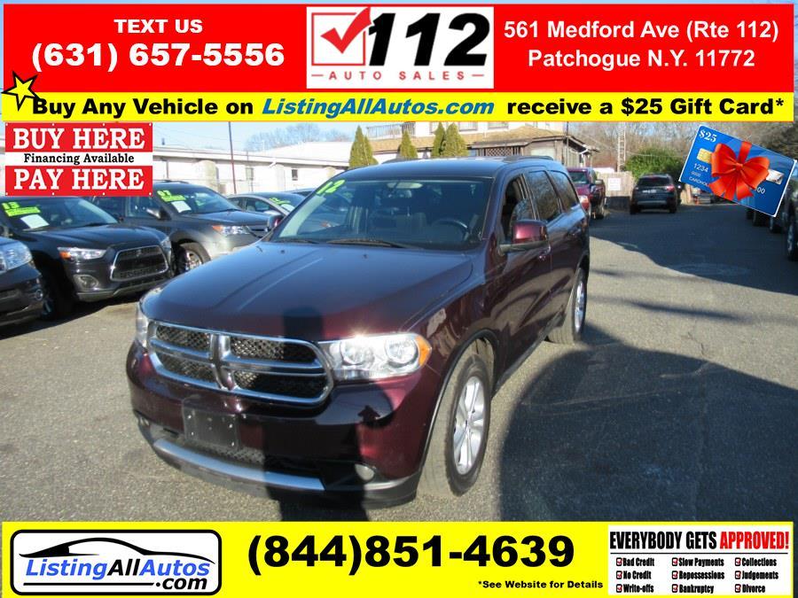 Used Dodge Durango AWD 4dr SXT 2012   www.ListingAllAutos.com. Patchogue, New York