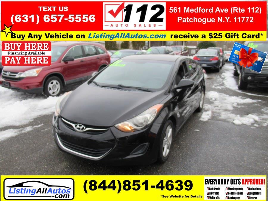 Used Hyundai Elantra 4dr Sdn Auto GLS *Ltd Avail* 2011 | www.ListingAllAutos.com. Patchogue, New York