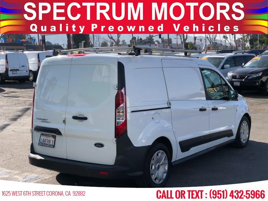 Used Ford Transit Connect Van XL LWB w/Rear Symmetrical Doors 2017   Spectrum Motors. Corona, California