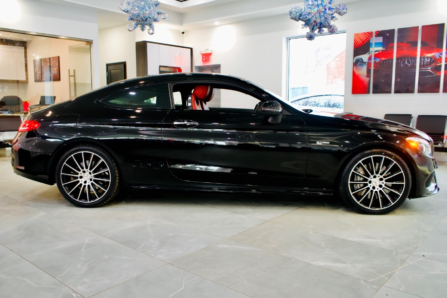 Used Mercedes-Benz C-Class AMG C 43 4MATIC Coupe 2017 | Luxury Motor Club. Franklin Square, New York