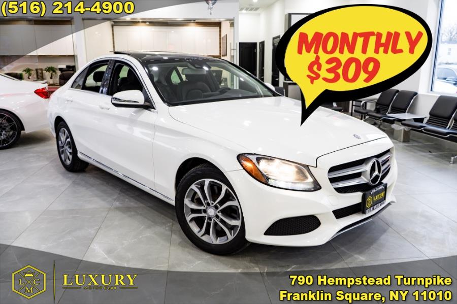2017 Mercedes-Benz C-Class C 300 4MATIC Sedan, available for sale in Franklin Square, NY