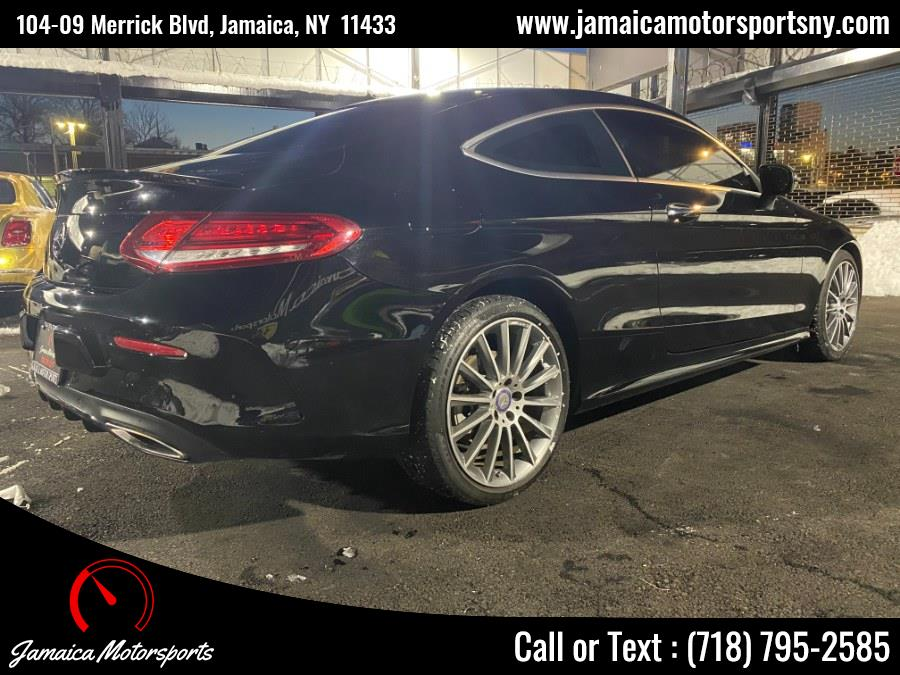 Used Mercedes-Benz C-Class C 300 4MATIC Coupe 2017 | Jamaica Motor Sports . Jamaica, New York