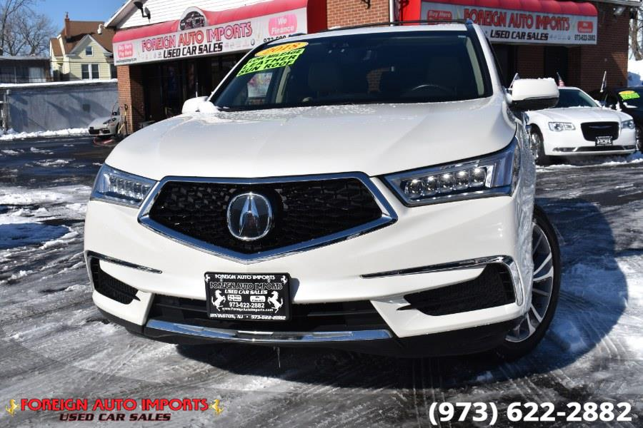 Used 2018 Acura MDX in Irvington, New Jersey | Foreign Auto Imports. Irvington, New Jersey