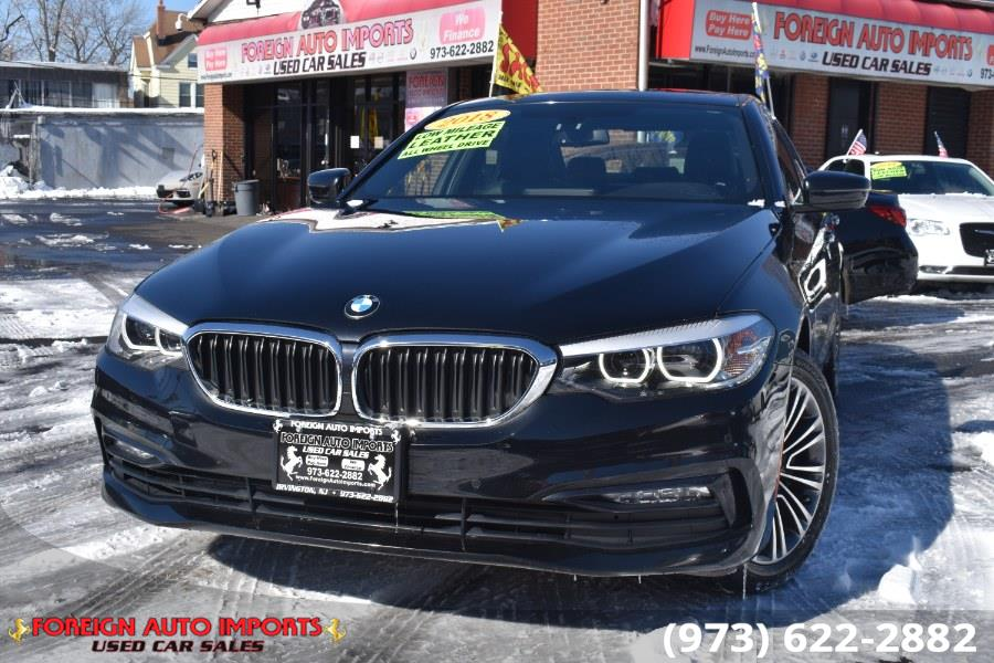 Used 2018 BMW 5 Series in Irvington, New Jersey | Foreign Auto Imports. Irvington, New Jersey