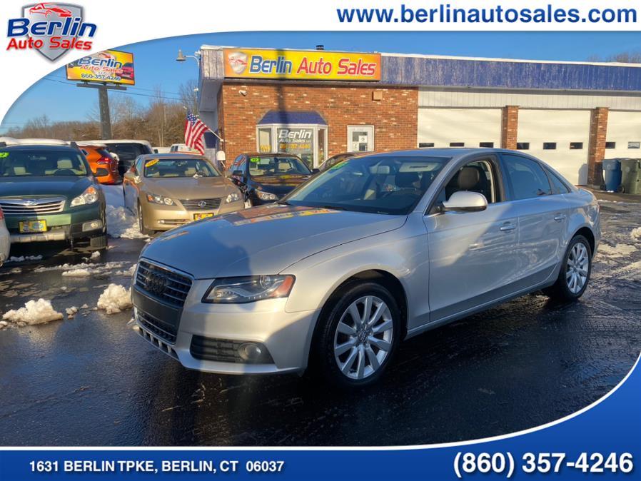 Used 2012 Audi A4 in Berlin, Connecticut | Berlin Auto Sales LLC. Berlin, Connecticut