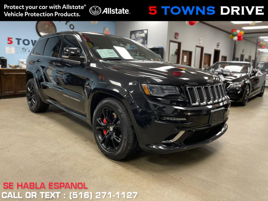 Used Jeep Grand Cherokee SRT 4WD 4dr SRT 2015 | 5 Towns Drive. Inwood, New York