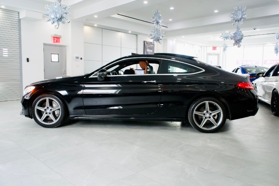 Used Mercedes-Benz C-Class C 300 4MATIC Coupe 2017 | Luxury Motor Club. Franklin Square, New York