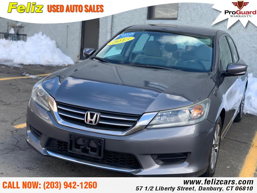 Used 2013 Honda Accord Sdn in Danbury, Connecticut | Feliz Used Auto Sales. Danbury, Connecticut