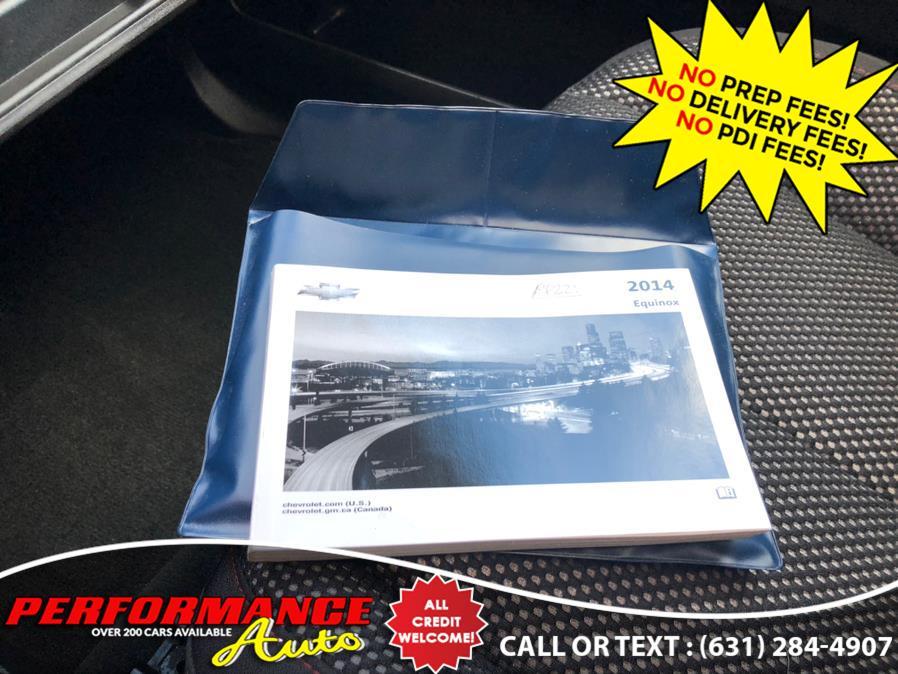 Used Chevrolet Equinox AWD 4dr LT w/1LT 2014 | Performance Auto Inc. Bohemia, New York