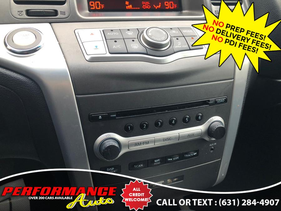 Used Nissan Murano AWD 4dr S 2011   Performance Auto Inc. Bohemia, New York