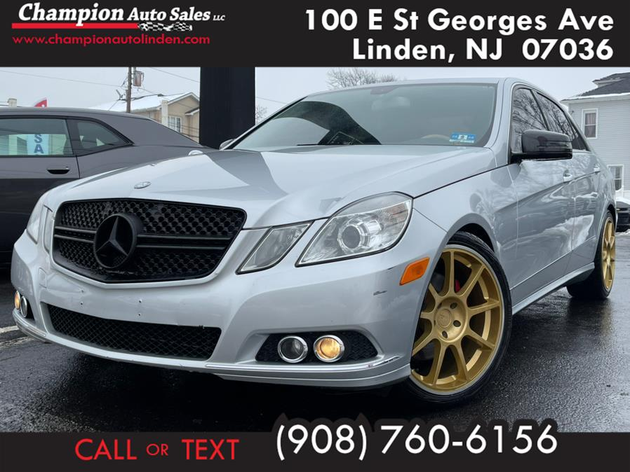Used 2010 Mercedes-Benz E-Class in Linden, New Jersey | Champion Used Auto Sales. Linden, New Jersey