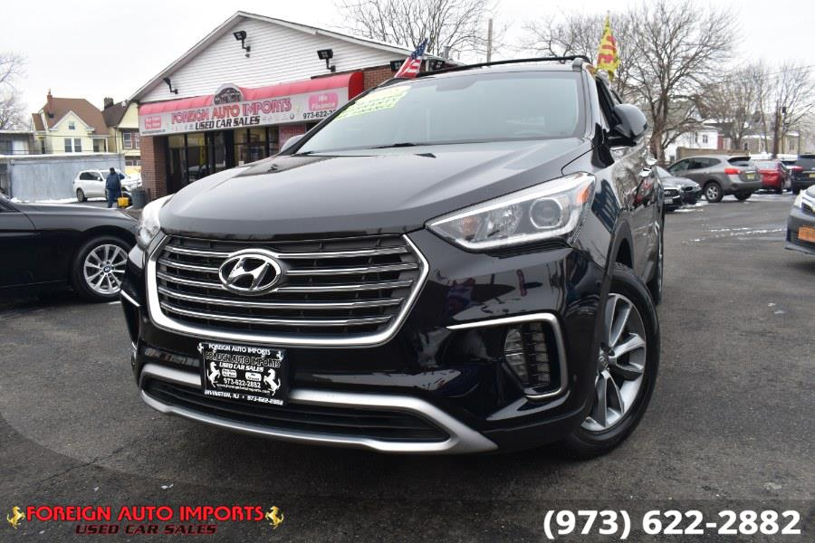 Used 2018 Hyundai Santa Fe in Irvington, New Jersey | Foreign Auto Imports. Irvington, New Jersey