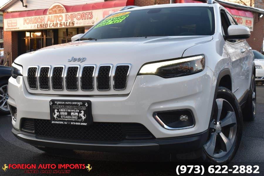 Used Jeep Cherokee Limited 4x4 2019 | Foreign Auto Imports. Irvington, New Jersey