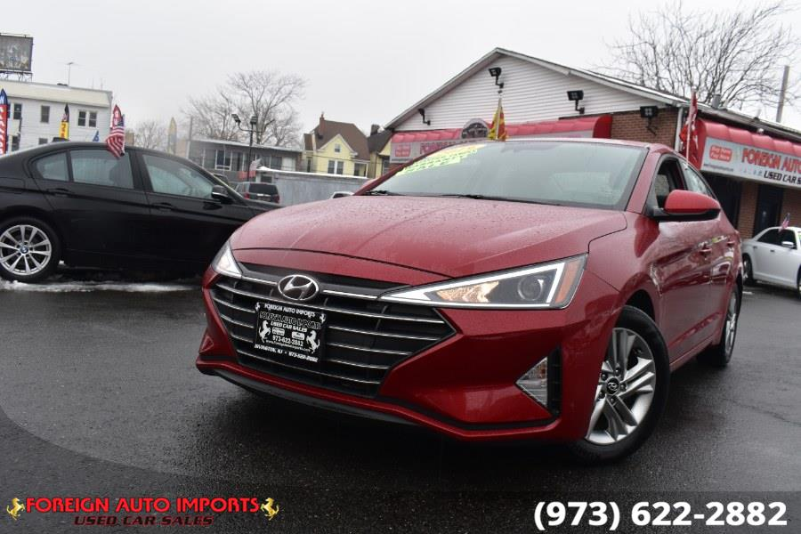 Used 2019 Hyundai Elantra in Irvington, New Jersey | Foreign Auto Imports. Irvington, New Jersey