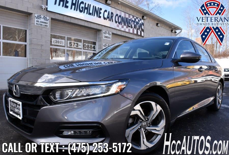 Used 2018 Honda Accord Sedan in Waterbury, Connecticut | Highline Car Connection. Waterbury, Connecticut