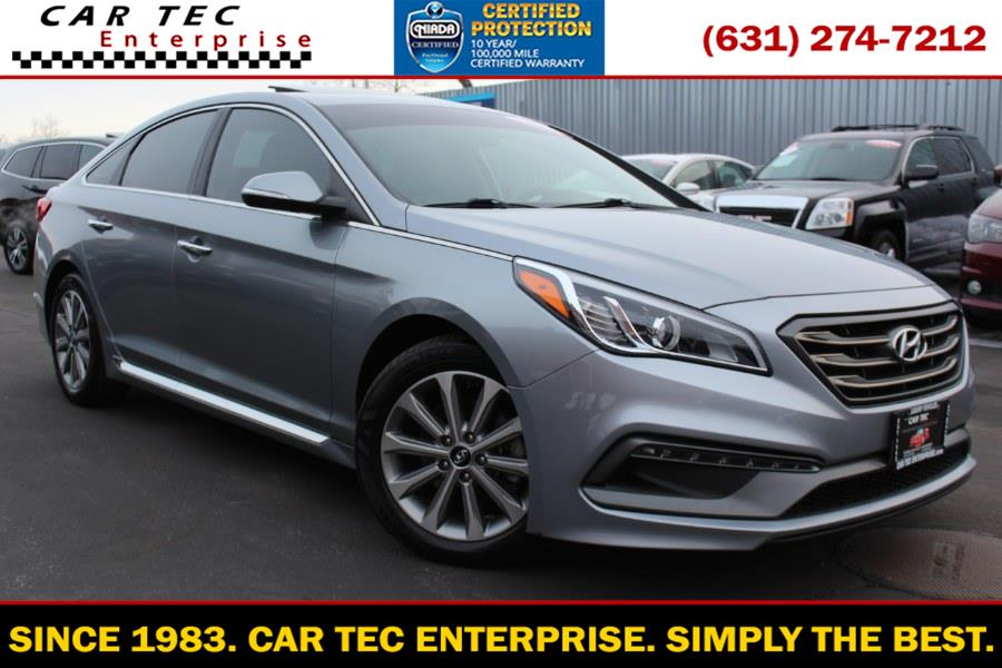 Used 2017 Hyundai Sonata in Deer Park, New York | Car Tec Enterprise Leasing & Sales LLC. Deer Park, New York