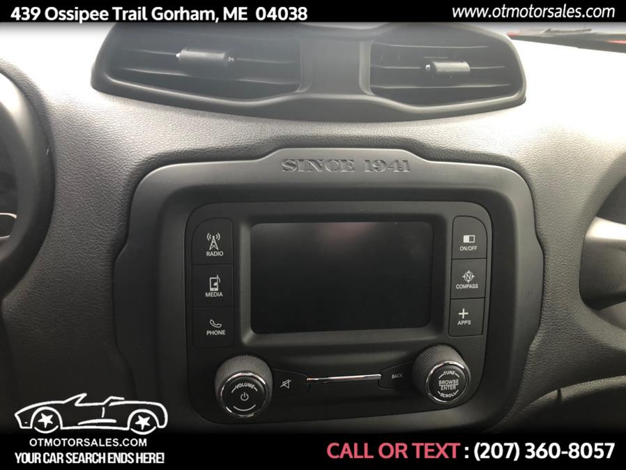 Used Jeep Renegade 4WD 4dr Latitude 2016 | Ossipee Trail Motor Sales. Gorham, Maine