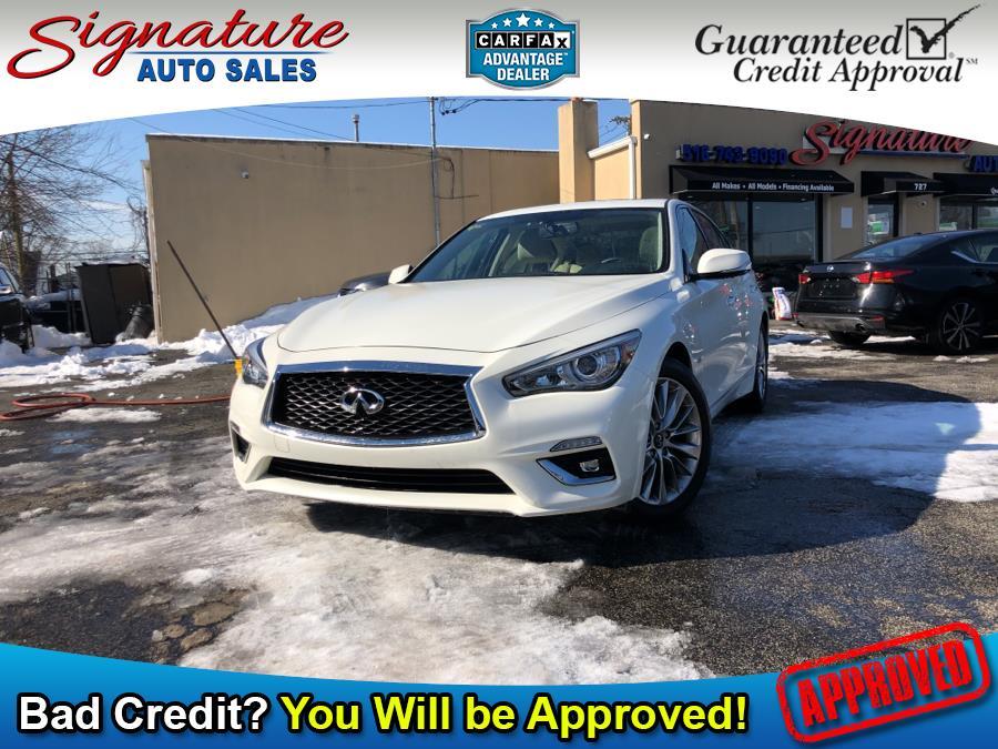 Used 2018 INFINITI Q50 in Franklin Square, New York | Signature Auto Sales. Franklin Square, New York