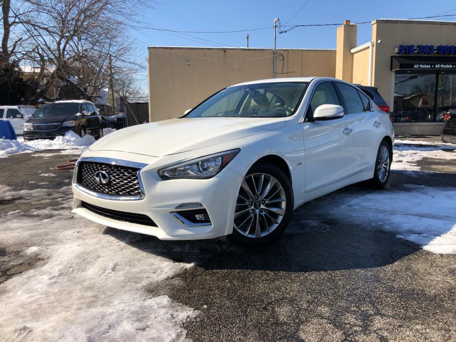 Used INFINITI Q50 3.0t LUXE AWD 2018 | Signature Auto Sales. Franklin Square, New York