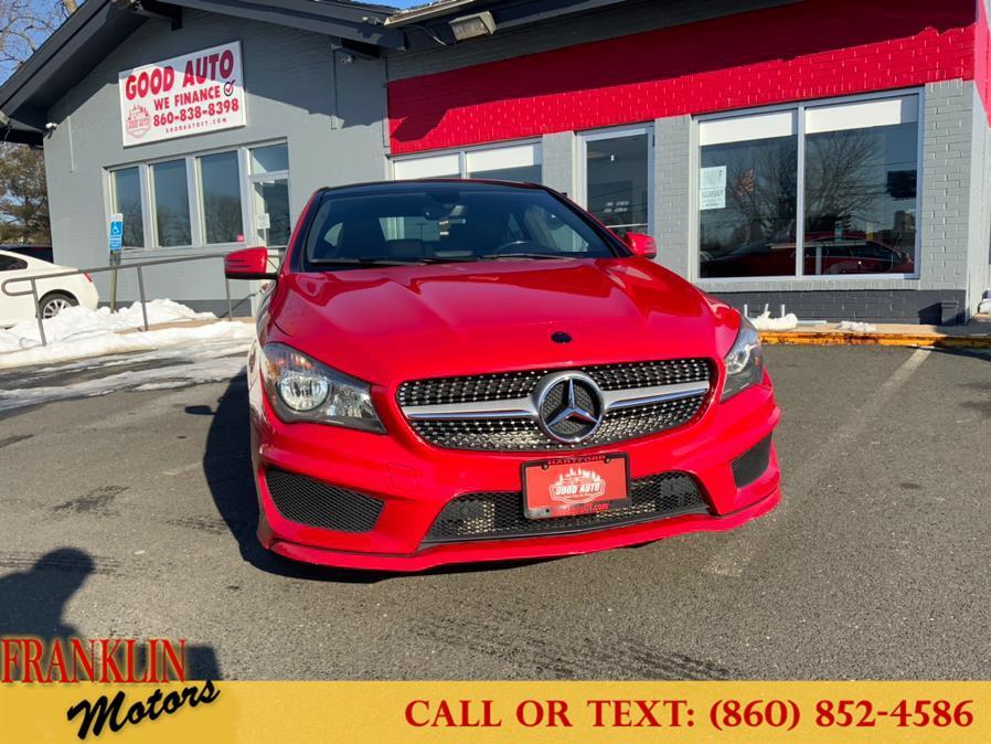 Used Mercedes-Benz CLA-Class 4dr Sdn CLA250 4MATIC 2014 | Franklin Motors Auto Sales LLC. Hartford, Connecticut