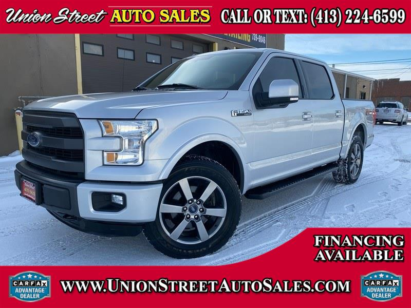 Used 2015 Ford F-150 in West Springfield, Massachusetts | Union Street Auto Sales. West Springfield, Massachusetts