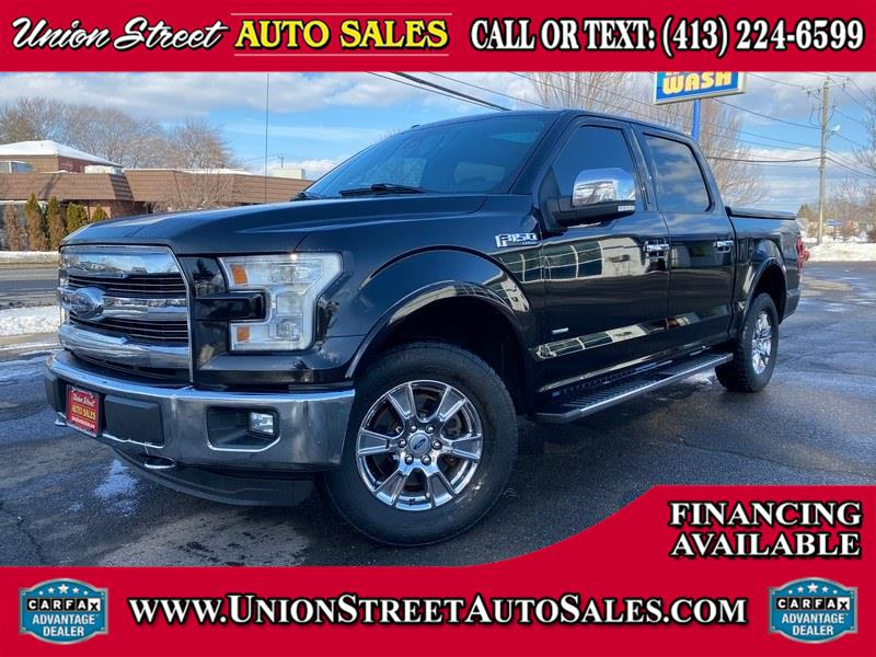 Used 2016 Ford F-150 in West Springfield, Massachusetts | Union Street Auto Sales. West Springfield, Massachusetts