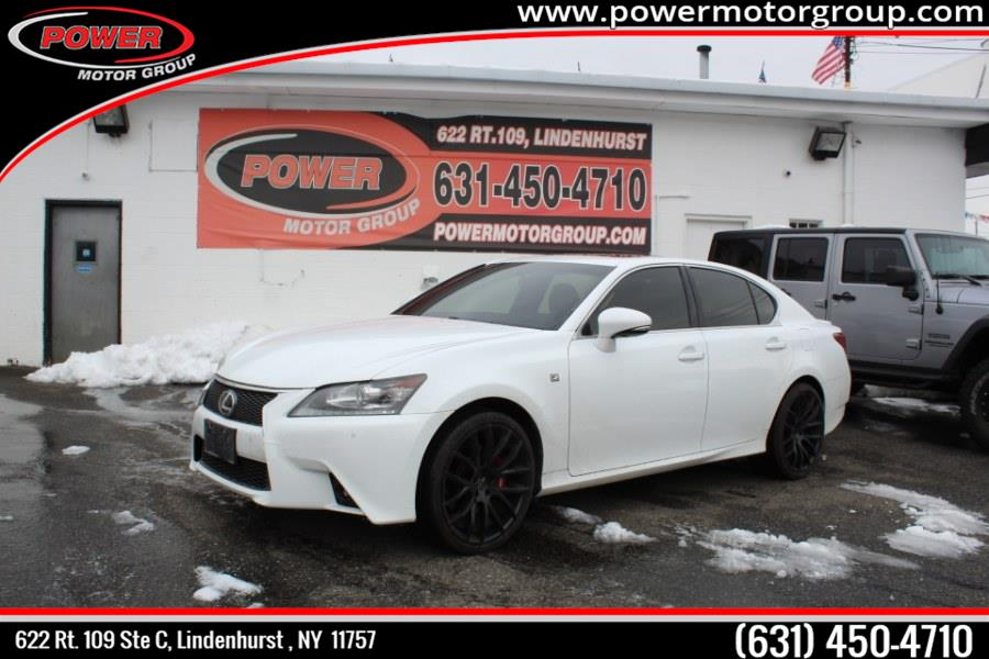Used Lexus GS 350 4dr Sdn Crafted Line AWD 2015 | Power Motor Group. Lindenhurst , New York