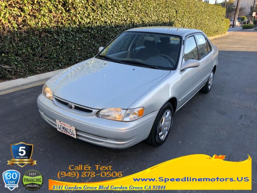 Used Toyota Corolla 4dr Sdn LE Auto 1999 | Speedline Motors. Garden Grove, California
