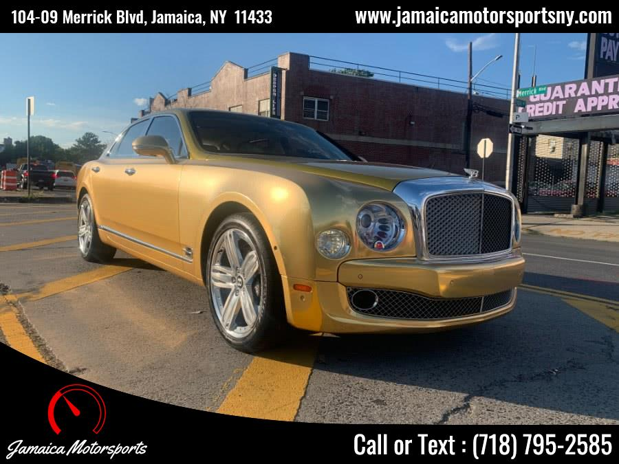 2012 Bentley Mulsanne 4dr Sdn, available for sale in Jamaica, NY