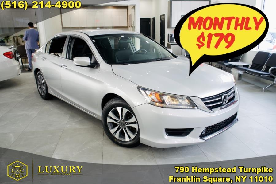 Used 2014 Honda Accord Sedan in Franklin Square, New York | Luxury Motor Club. Franklin Square, New York