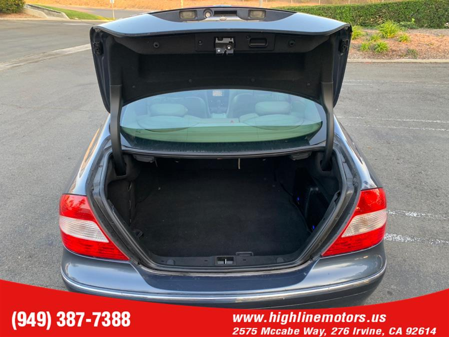 Used Mercedes-Benz CLK 350 2dr Coupe 3.5L 2007 | High Line Motors LLC. Irvine, California