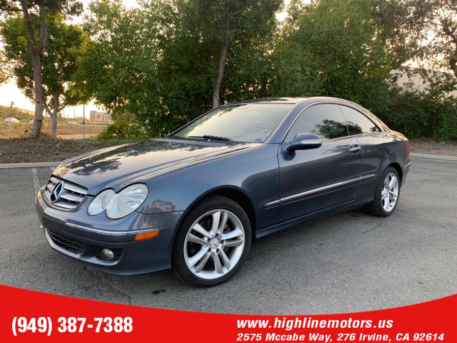 Used Mercedes-Benz CLK 350 2dr Coupe 3.5L 2007 | High Line Motors LLC. Irvine, California