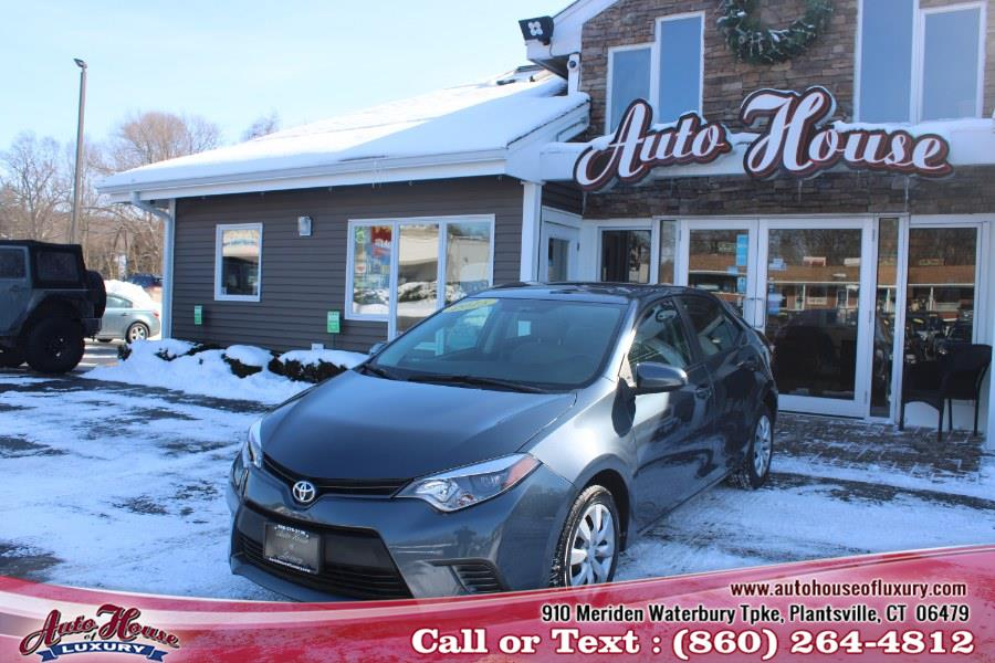 Used Toyota Corolla 4dr Sdn CVT LE (Natl) 2015 | Auto House of Luxury. Plantsville, Connecticut