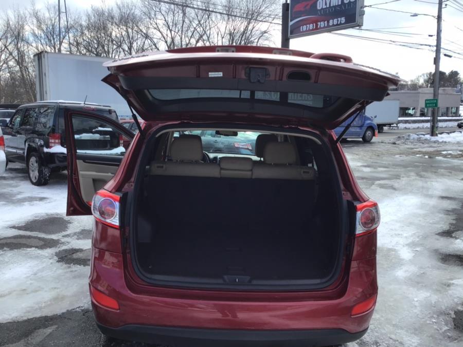 Used Hyundai Santa Fe AWD 4dr I4 Auto GLS 2010 | Olympus Auto Inc. Leominster, Massachusetts