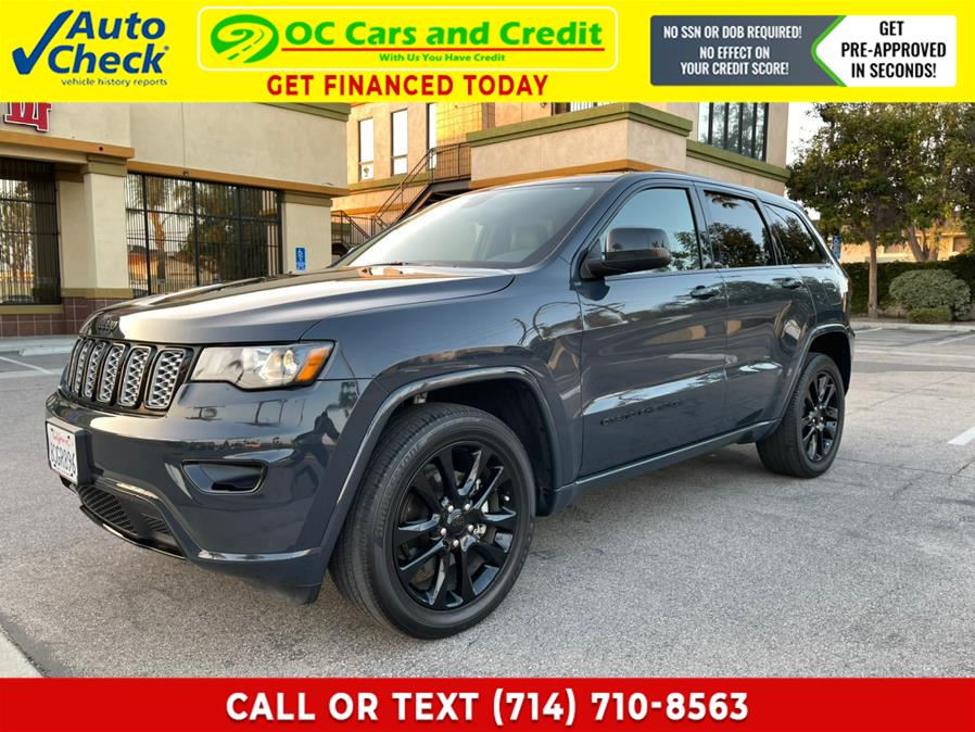 Used 2018 Jeep Grand Cherokee in Garden Grove, California | OC Cars and Credit. Garden Grove, California