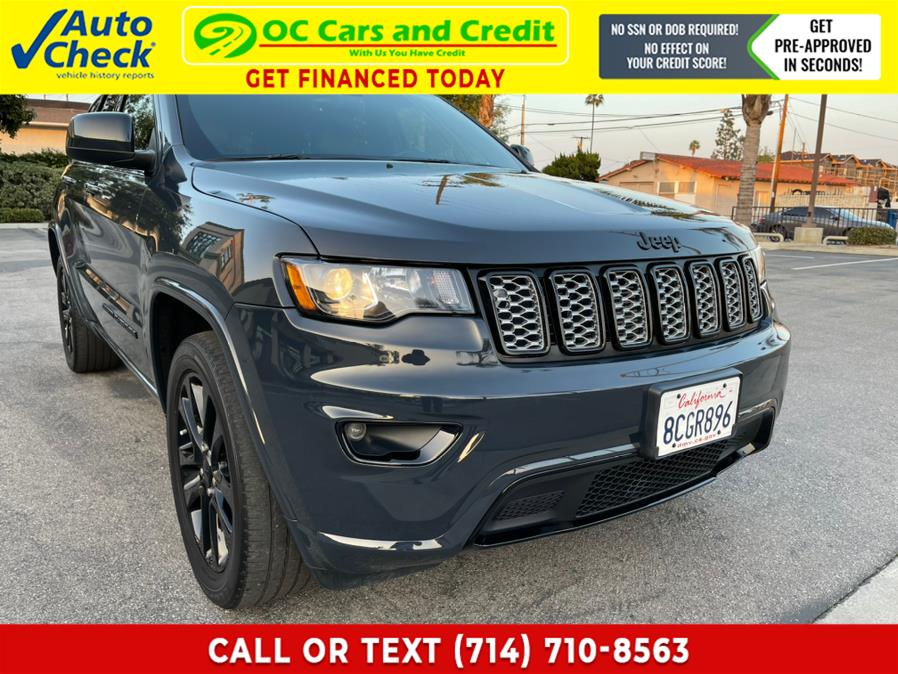 Used Jeep Grand Cherokee Altitude *Ltd Avail* 2018 | OC Cars and Credit. Garden Grove, California