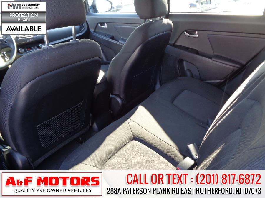 Used Kia Sportage AWD 4dr LX 2013   A&F Motors LLC. East Rutherford, New Jersey