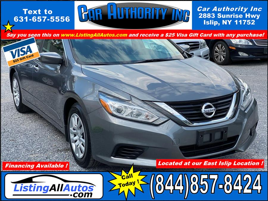 Used 2016 Nissan Altima in Patchogue, New York | www.ListingAllAutos.com. Patchogue, New York