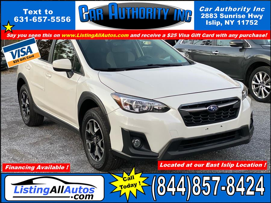 Used Subaru Crosstrek 2.0i Premium AWD 4dr Crossover CVT 2018 | www.ListingAllAutos.com. Patchogue, New York