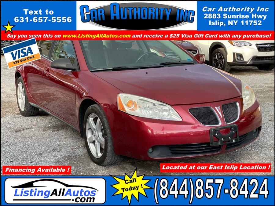 Used Pontiac G6 GT 4dr Sedan w/1SA 2009 | www.ListingAllAutos.com. Patchogue, New York