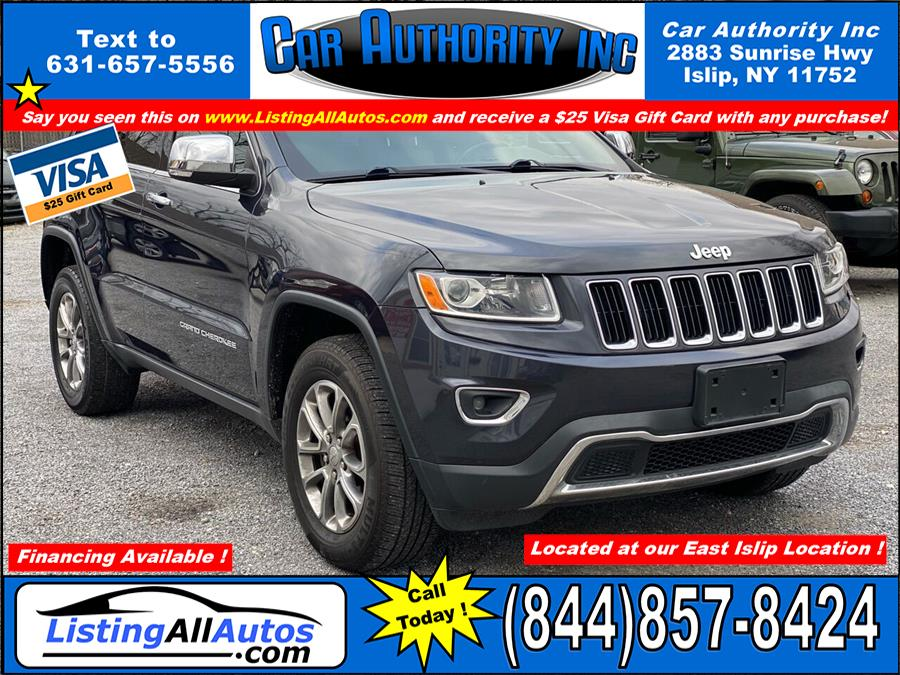 Used Jeep Grand Cherokee Limited 4x4 4dr SUV 2014 | www.ListingAllAutos.com. Patchogue, New York