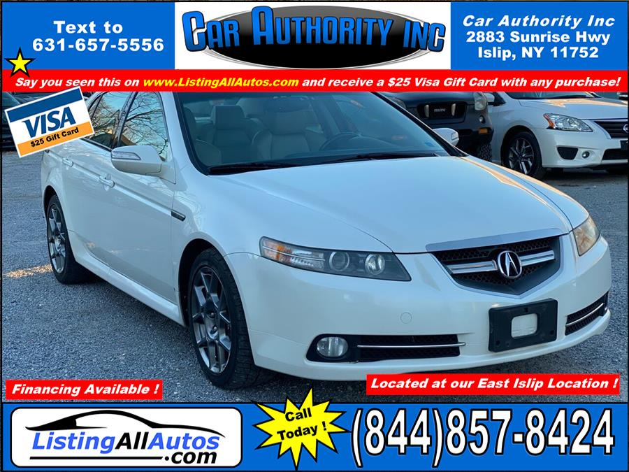 Used Acura Tl Type S 4dr Sedan 5A 2008 | www.ListingAllAutos.com. Patchogue, New York