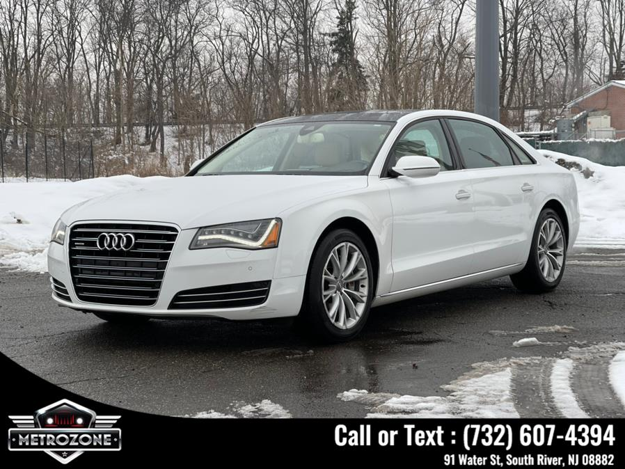 Used Audi A8 L 4dr Sdn 3.0T 2014 | Metrozone Motor Group. South River, New Jersey
