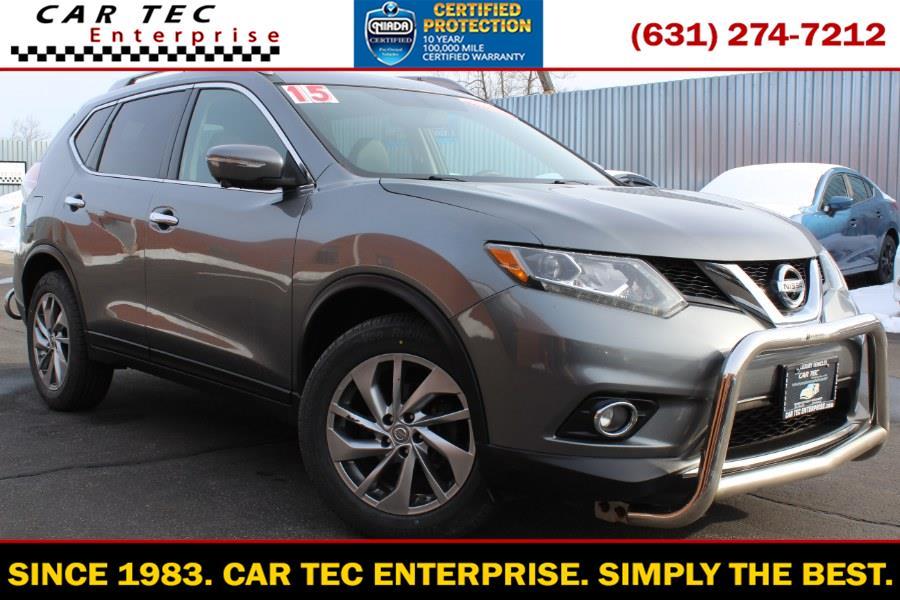 Used 2015 Nissan Rogue in Deer Park, New York | Car Tec Enterprise Leasing & Sales LLC. Deer Park, New York