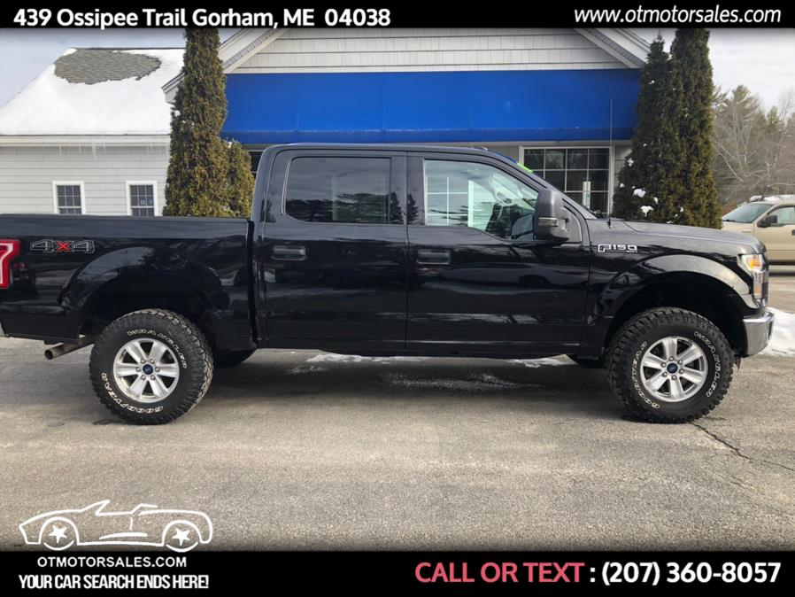Used 2016 Ford F-150 in Gorham, Maine | Ossipee Trail Motor Sales. Gorham, Maine