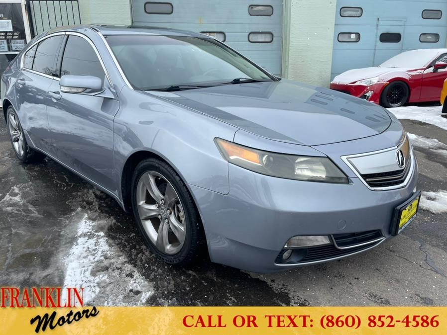 Used 2012 Acura TL in Hartford, Connecticut | Franklin Motors Auto Sales LLC. Hartford, Connecticut