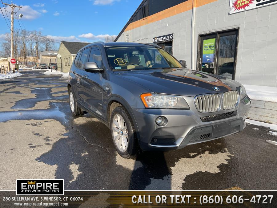 Used 2014 BMW X3 in S.Windsor, Connecticut | Empire Auto Wholesalers. S.Windsor, Connecticut